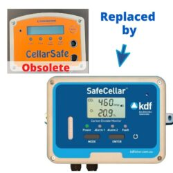 CellarSafe is obsolete and now replaced by KDF SafeCellar